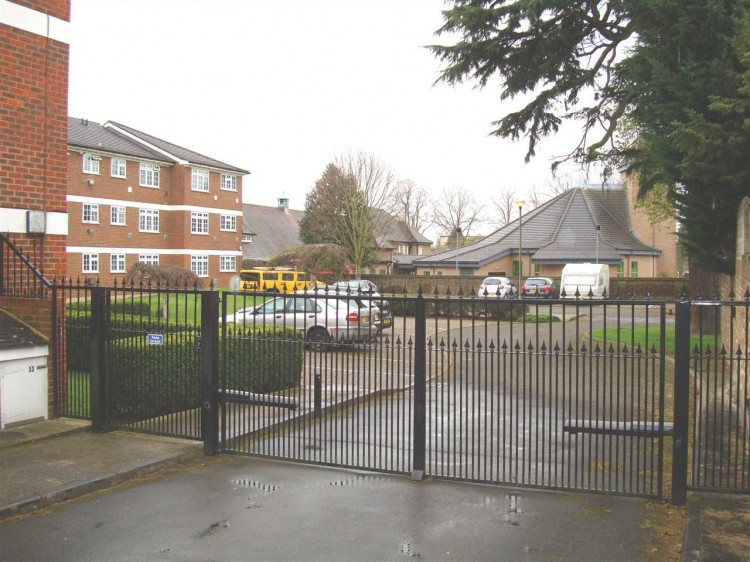 Rear Gated Parking